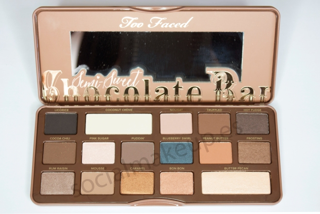 Too Faced Chocolate Bar semi-sweet